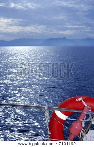 Bue Ocean Sea View From Boat