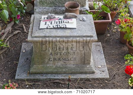 The Tomb Of Antonio Gramsci