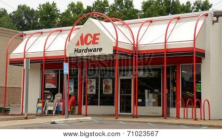 Ace Hardware Store Front