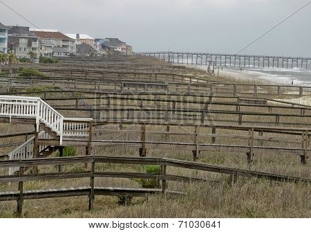 Neverending Boardwalks Down To The Beach