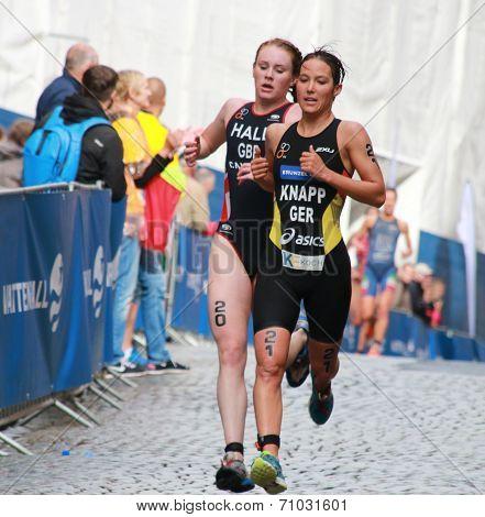 Anja Knapp and Lucy Hall