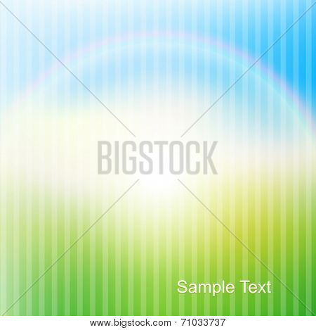 Abstract sunny background, vector illustration