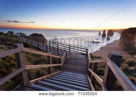 The Twelve Apostles Australia, Victoria, Port Campbell, Elevated view