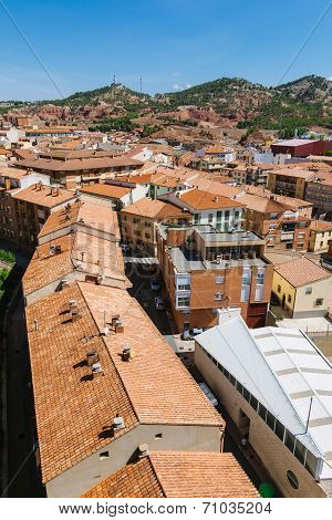 View Of Teruel Old Town, Aragon, Spain