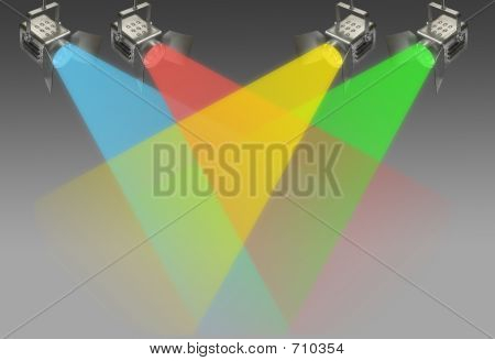 Four Color Spotlights