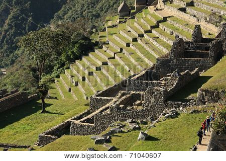 Abandoned City of Machu Picchu, Peru