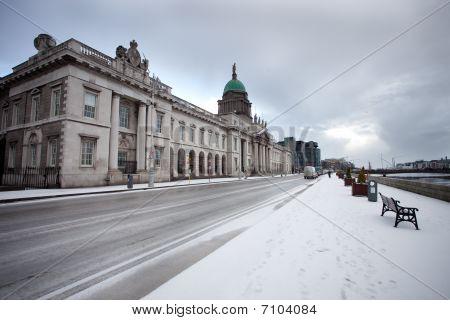 Dublin Snow