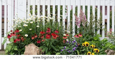 Old Fashioned Garden Fence