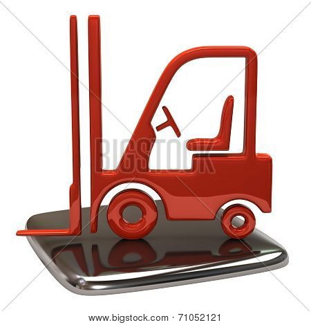 Lift truck icon