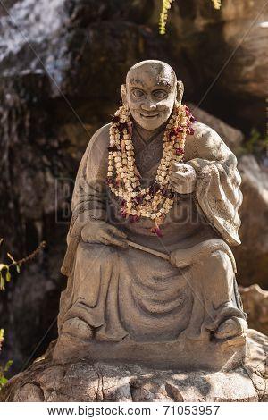 Buddhist Monk Sculpture