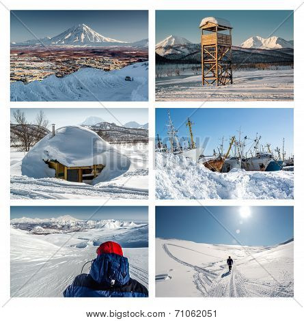 Kamchatka Peninsula Collage