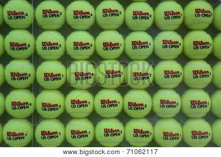 US Open Wilson tennis balls at Billie Jean King National Tennis Center