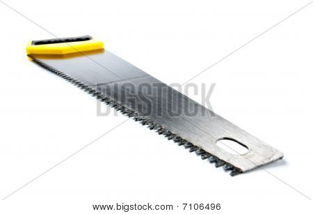 Hacksaw With Yellow Handle