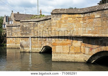 Medieval stone bridge, Burford.
