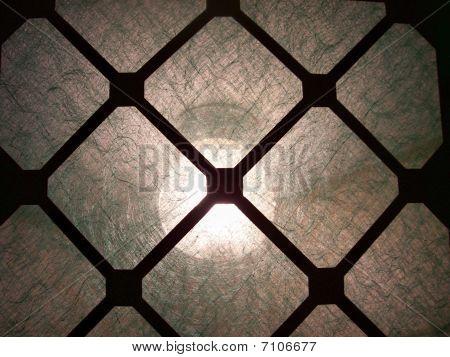 Close-Up Clean Paper Furnace Air Filter