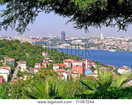 View on Istanbul