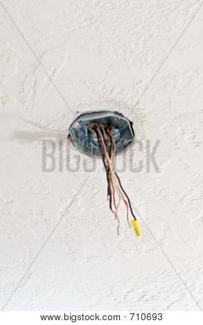 Properly Installed Ceiling Box