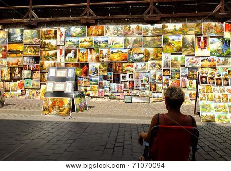 Picture gallery in Krakow