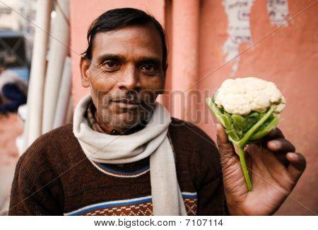 Indian Street Vendor
