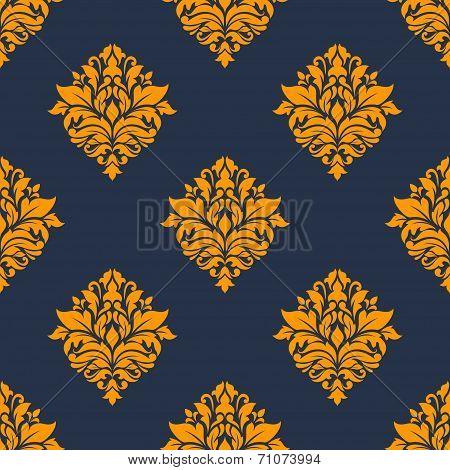 Retro orange seamless pattern