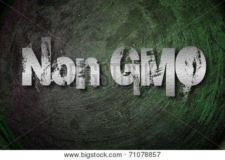 Non Gmo Concept