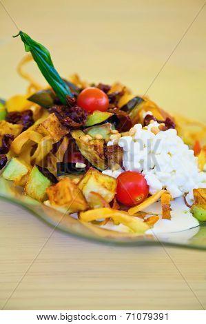 Tasty Vegetarian Salad