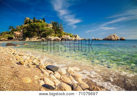 Island And Beach Isola Bella