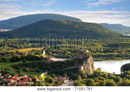 Bratislava - Ruin Of Castle Devin, Slovakia