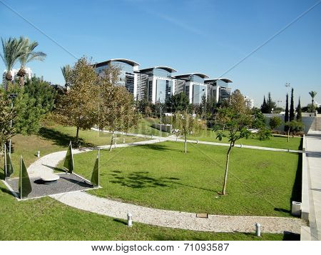 Bar-ilan University The Dahan Park 2010