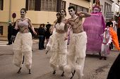 Carnival In Portugal,febrary 2010