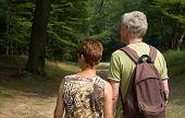 Senior Couple Hiking -2 poster