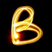 pic of cursive  - B  - JPG