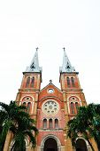 pic of notre dame  - The cathedral Notre Dame de Saigon - JPG