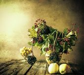 picture of elderberry  - Autumn bouquet - JPG