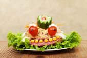 picture of freaky  - Creative fresh and healthy food  - JPG