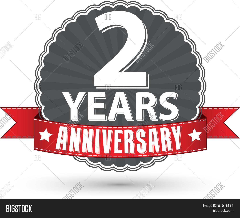 Celebrating years anniversary vector photo bigstock
