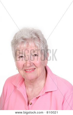 smiling senior