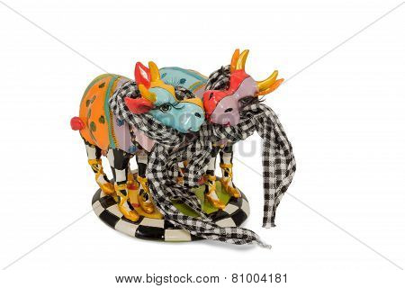 Figurine cow lovers
