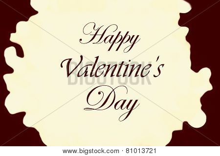 Beautiful Abstract Boke Background With De Focused Bokeh Lights. Happy Valentine's Day Card Hearts L