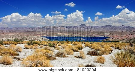 Lake Mohave Landscape Nevada