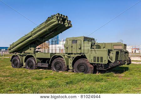 The 9K58 Smerch 300Mm Multiple Launch Rocket System (mlrs)