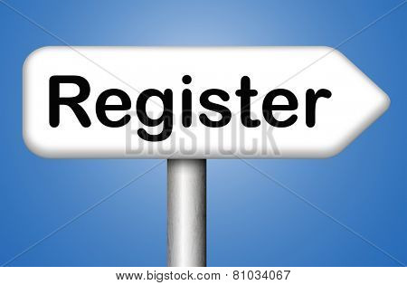 register now onine member registration sign