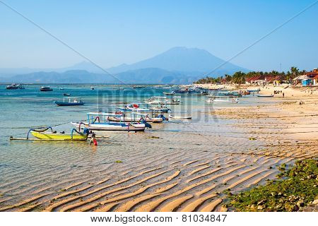 Paradise Beach At Nusa Lembongan, Indonesia