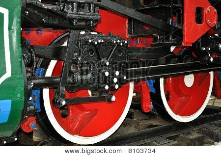 Drive mechanism and red train wheels