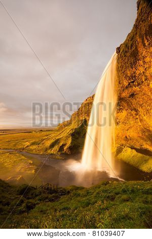 Seljalandsfoss Waterfalls