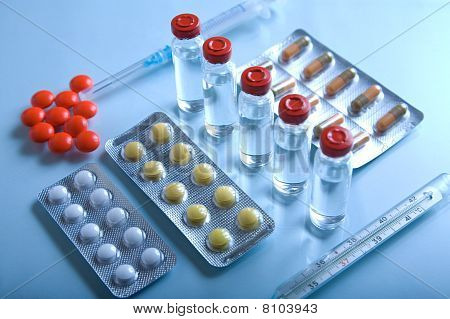 Lot Of Medicines