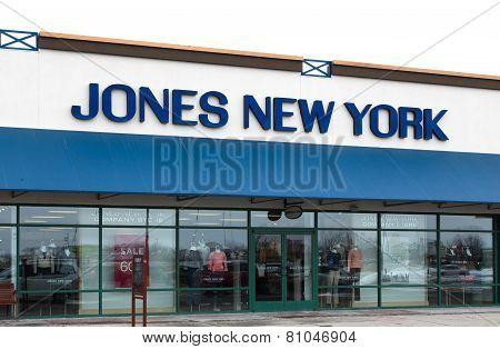 Jones New York Store Exterior