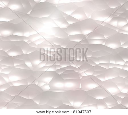 Abstract background, white clouds or bubbles