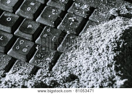Buried Keyboard