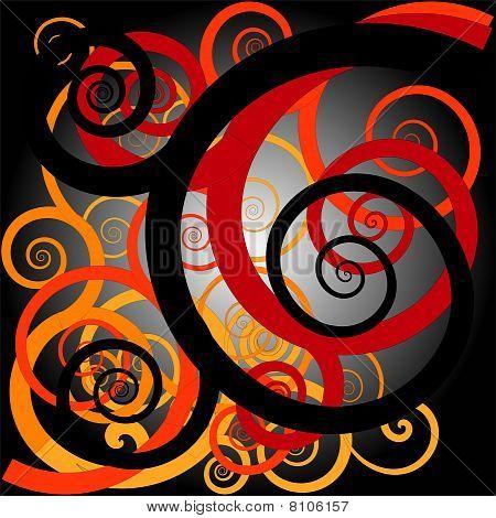 Orang Ulu motif design